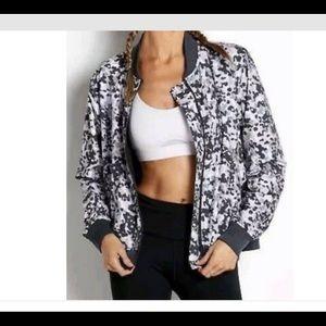 New Victoria Secret Sport camo bomber jacket